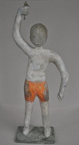 art populaire, peinture, sculpture, statue ciment, antiquités, art naif