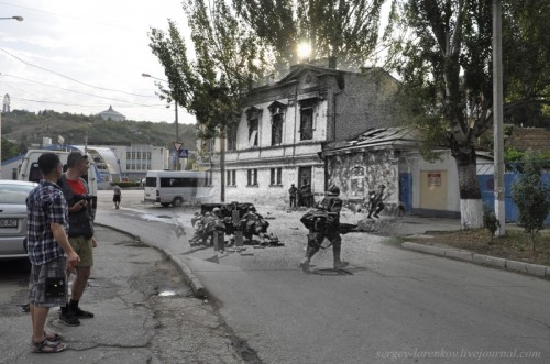 Sergei Larenkov,photomontage,seconde guerre mondiale