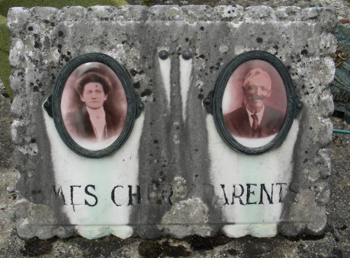 cimetière,photos inédites,art populaire,la place du mort,photo sur porcelaine