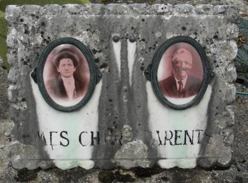 cimetière,photos inédites,art populaire,la place du mort,photo sur porcelaine