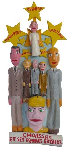 yann paris,sculpture,art singulier,art brut,art modeste,andré Breton,Gaston Chaissac,Richard Brautigan