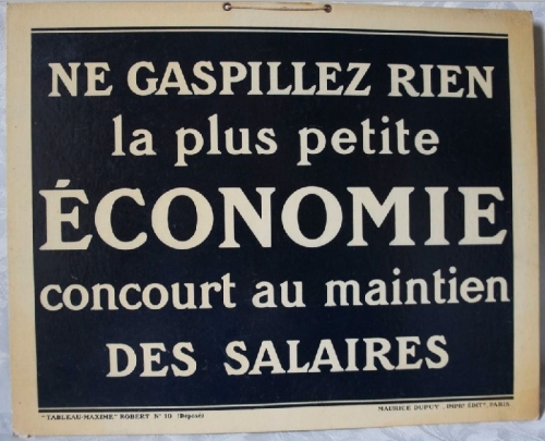 usine, communication,morale,condition de travail,brocante,carton publicitaire,collection,capitalisme