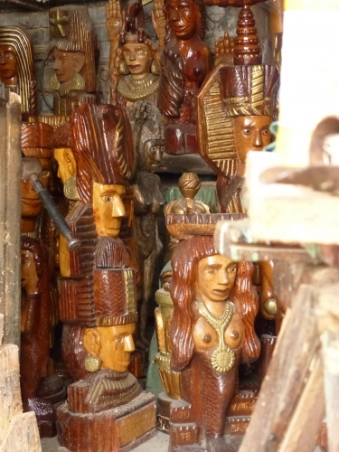 josé leitao,sculpture bois,art brut,art naïf,art singulier,ailly sur somme