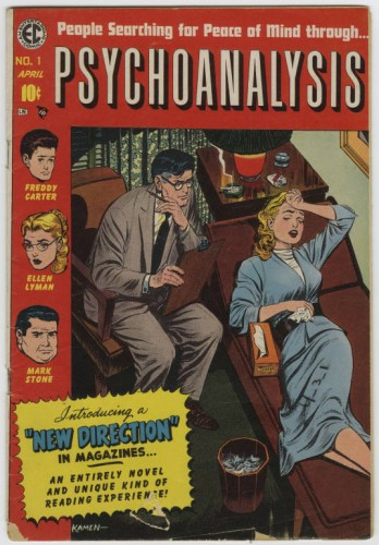 no comment, psychoanalysis cover, BD