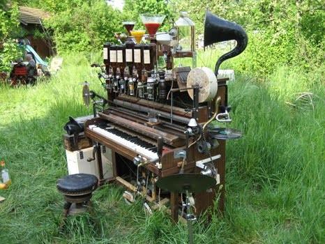 Pianocktail,Boris Vian,chanson,CD, carte postale, Bizarre
