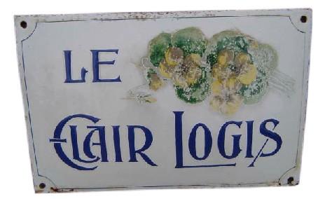 plaques émaillées de villas, Frévent, populaire