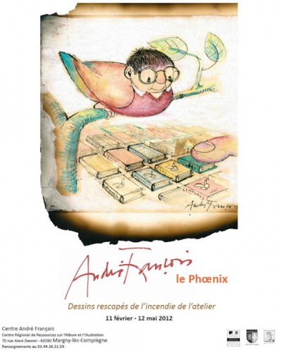 André François, Margny les Compiègne,Illustrateur, illustration, affiche,expo