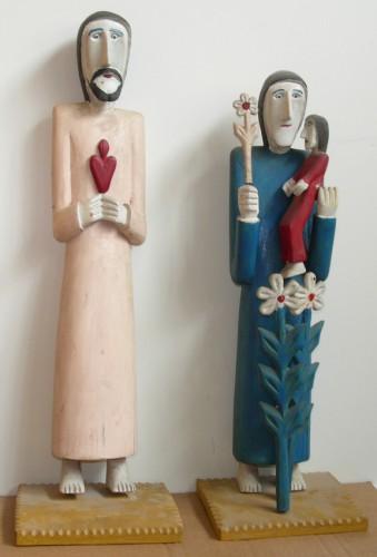 art singulier, art populaire, sculpture, pologne