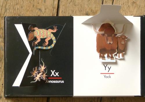 abécédaire,alphabet,pop-up,livre,édition,paul doucet,chuck morph,animaux,illustrateur,illustration.