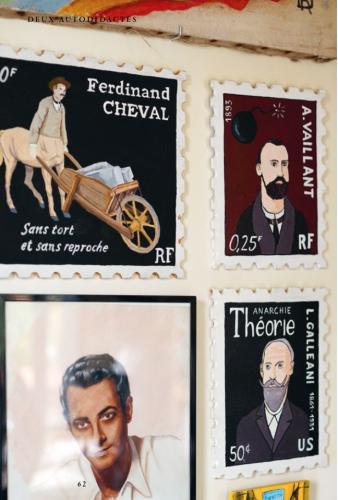 Revue Profane, laurent Jacquy,Yann Paris,art modeste, art singulier,sculpture painture, art brut