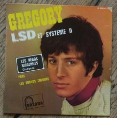 gregory ken,musique,LSD,acid,blotter,vinyls,45T