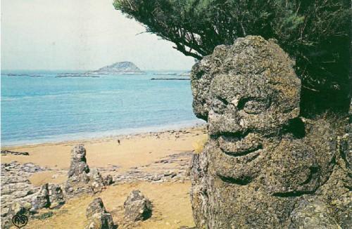 Rotheneuf, abbé fouré, art brut, art singulier, rochers scupltés
