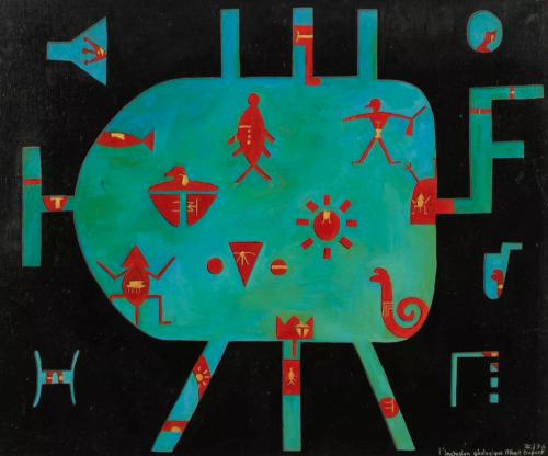 art brut, art singulier, peinture, wolfi, combas, Albert Dupont