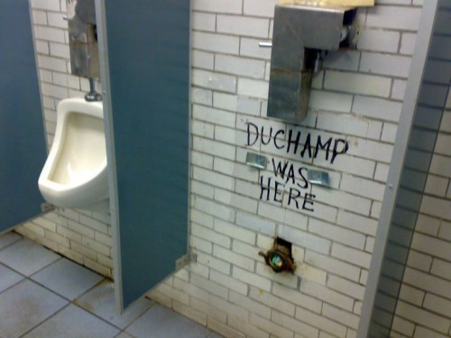 duchamp was here,no comment,humour