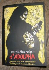 Rémi Verbraeken, Adolpha Van Meerhaeghe,dessin,illustration,illustrateur,une vie bien renger,Le dernier Cri,L'impubliable,édition,graphisme