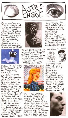 Willem, Charlie Hebdo, répertoire 2011, avec par ordre de disparition, Laurent Jacquy des Macchabées célèbres