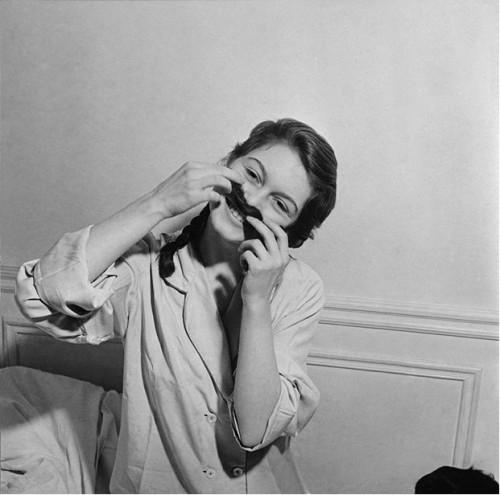 Brigitte Bardot, photo Pierre Boulat 1952Noir et blanc