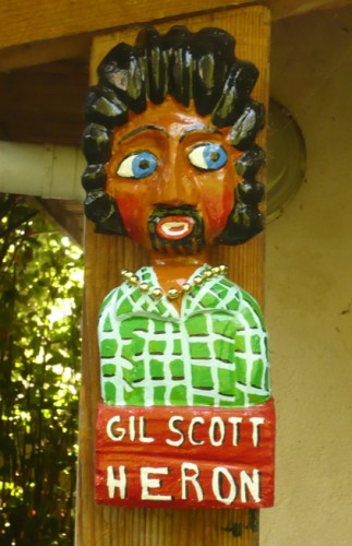 gil Scott-Heron, Yann Paris, sculpture