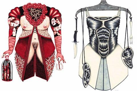 Emmanuelle Houdart,illustration,graphisme,édition,garde-robe