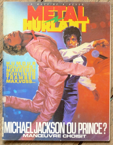 prince,metal hurlant,jacques Parnel