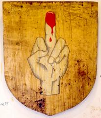 Fresque,peinture murale,graffiti,art singulier,art insolite, salle de garde,pailardise,érotisme,carabin,peinture