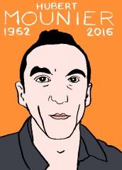 hubert Mounier, dessin, portrait, laurent Jacquy