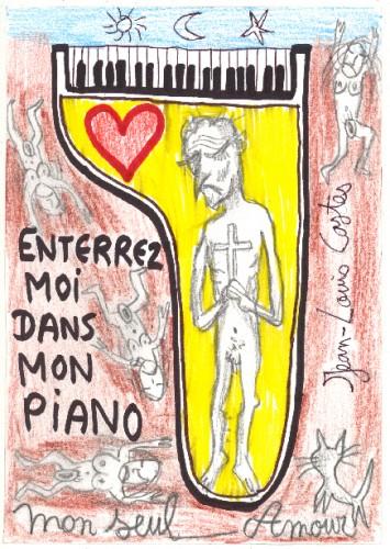 Jean-Louis Costes, La place du mort,dessin,les Beaux Dimanches,macchabées