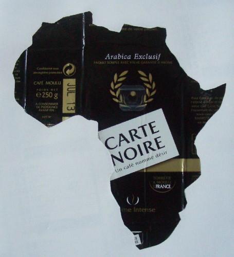 Découpage,Laurent Jacquy,Carte noire,Afrique