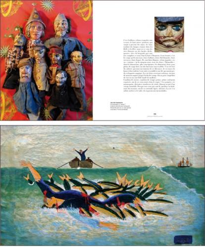 l'or aux 13 iles, art brut surréalisme