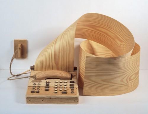 Art,art contemporain,sculpture en bois,assemblage de bois,tricot,crochet,photo,Dimtri Tsykalov