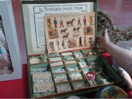jeu,jouets,modelage,figurine,collection,brocante,indien