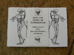 Répertoire 2011 des macchabées célèbres, Laurent Jacquy, Dessin, Art singulier,french outsider,art insolite, cariature