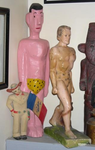 tarzan, yann paris, sculpture
