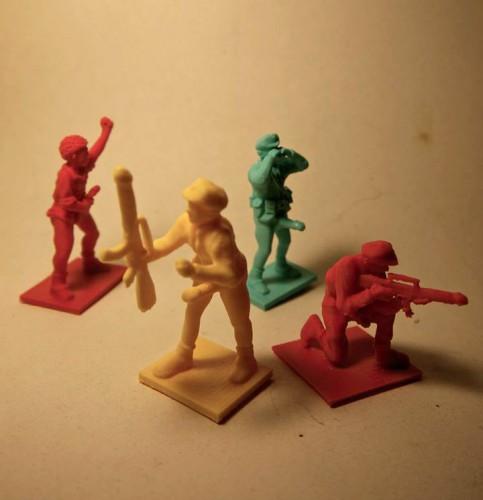tom de pékin,united dead artists,soldats de plastique,jouet,figurine,art populaire,art modeste,jeu