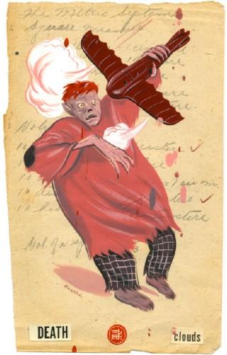 Ryan Heshka,Abécédaire,illustration,édition,livre jeunesse