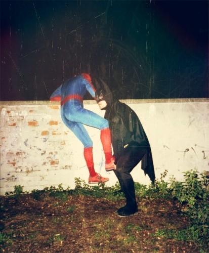 super héros,détournement,No comment