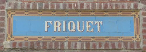 Carreaux de ciment,architecture,petit patrimoine,noms de villas,collection,brocante