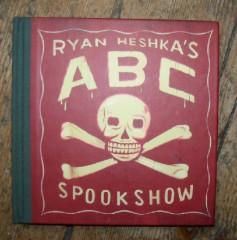 ryan heshka's,illustration,illustrateur,abédaire,alphabet,édition,livres jeunesse