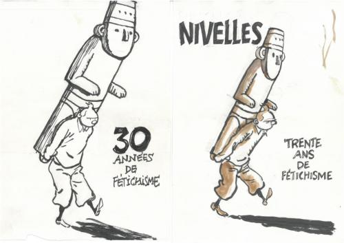 f'murrr,dessin,BD,tintin,hergé,colletion, enchères, amis d'Hergé, Nivelles