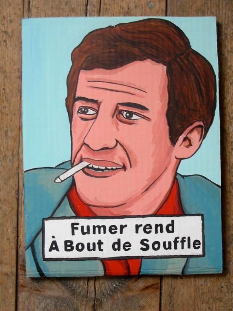 Jean-Paul Belmondo,cinéma,cartes postales anciennes