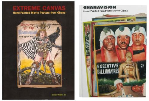 Art naif, art populaire, affiches de cinéma Ghana, livre, édition, Putters, peinture, peintre, graphisme, afrique, extreme canvs, ghanavision