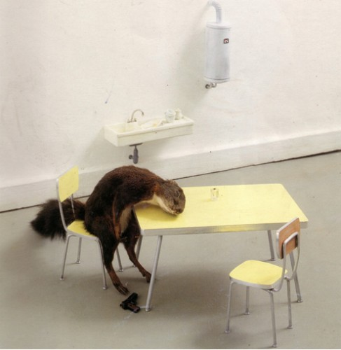Tatoo, Tatouage tatoueur, anthropomorphic taxidermie, Sue Jeiven, Anthropomorphisme, William Wegman, chien, tatouages tatoueur, taxidermie anthropomorphique, animaux, humour